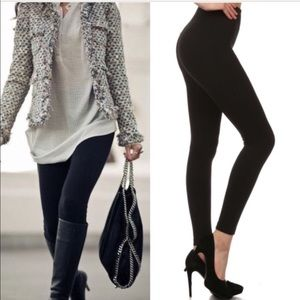 Plus Size Soft BLACK leggings